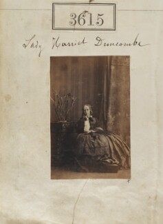 Lady Harriet Christian Duncombe (née Douglas), by Camille Silvy - NPG Ax53011