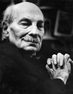 Clement Attlee, by J.S. Lewinski - NPG x13703