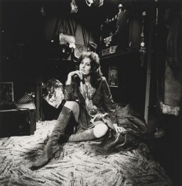 Germaine Greer, by Lord Snowdon, 1971 - NPG P813 - © Armstrong Jones