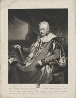 William Harcourt, 3rd Earl Harcourt, by Samuel William Reynolds, after  Henry Edridge - NPG D35324