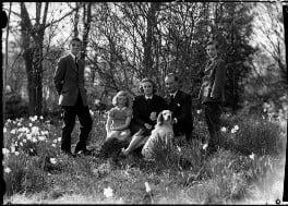 The Allhusen family, by Navana Vandyk, 21 April 1953 - NPG x98999 - © National Portrait Gallery, London