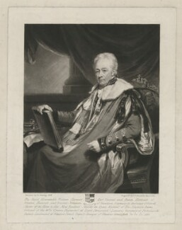 William Harcourt, 3rd Earl Harcourt, by Samuel William Reynolds, after  Henry Edridge - NPG D35326