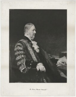Sir William Vernon Harcourt, by The Autotype Company, after  Sir Arthur Stockdale Cope - NPG D35329