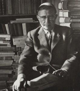 Jean-Paul Sartre, by Ida Kar - NPG x132745
