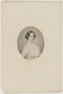 Mary Anne Grace Louisa (née Lenox-Conyngham), Viscountess Doneraile, by William Henry Mote, after  Henry Weigall - NPG D35349