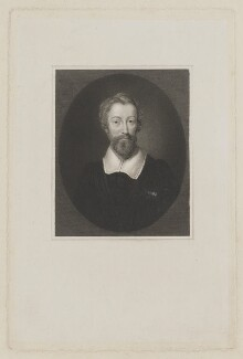 possibly John Donne, by Unknown artist - NPG D35351
