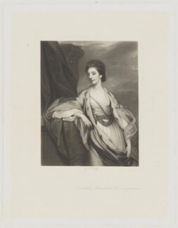 Christiana Hutchinson, Baroness Donoughmore, by George H. Every, after  Sir Joshua Reynolds - NPG D35353