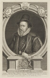 Thomas Sackville, 1st Earl of Dorset, by George Vertue, published by  John & Paul Knapton - NPG D35357