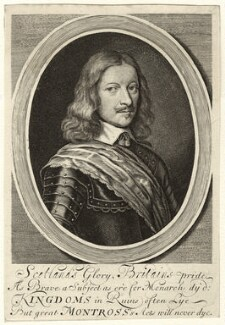 James Graham, 1st Marquess of Montrose, probably by William Faithorne - NPG D35465