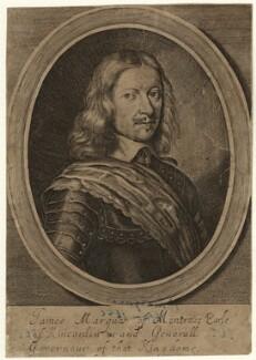 James Graham, 1st Marquess of Montrose, probably by William Faithorne - NPG D35467