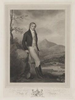 George John Frederick Sackville, 4th Duke of Dorset, by Charles Picart, after  Charles Robertson - NPG D35365