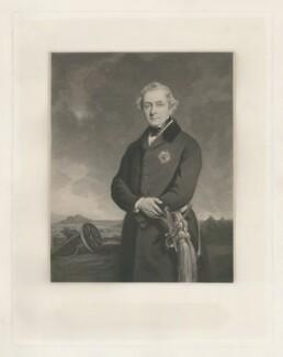 Henry Hardinge, 1st Viscount Hardinge of Lahore, by James Faed the Elder, after  Sir Francis Grant - NPG D35408