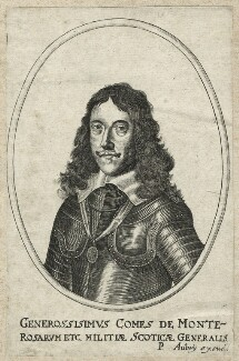 James Graham, 1st Marquess of Montrose, published by Pierre Aubrey - NPG D35468