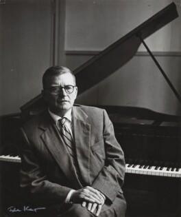 Dmitri Shostakovich, by Ida Kar - NPG x132751