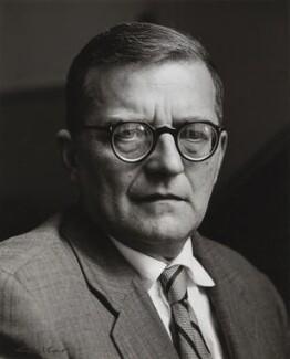 Dmitri Shostakovich, by Ida Kar - NPG x132752