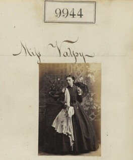 Miss Valpy, by Camille Silvy - NPG Ax59662