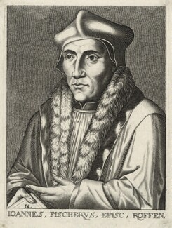John Fisher, by D.L., after  Hans Holbein the Younger - NPG D35479