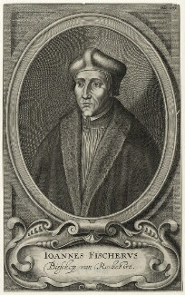 John Fisher, by Frederik Bouttats the Younger - NPG D35481
