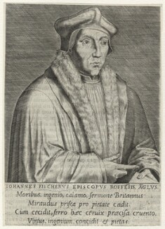 John Fisher, by Philipp Galle - NPG D35482