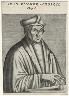 John Fisher, after Unknown artist, published 1584 - NPG D35483 - © National Portrait Gallery, London