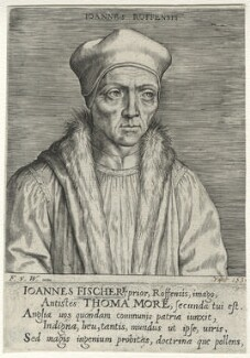 John Fisher, published by Frans van den Wyngaerde (Wijngaerde), after  Unknown artist - NPG D35484