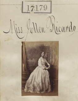 Ellen Maud (née Ricardo), Lady Bruce, by Camille Silvy - NPG Ax65052