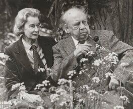 Jacquetta Hawkes; J.B. Priestley, by Lord Snowdon - NPG P817