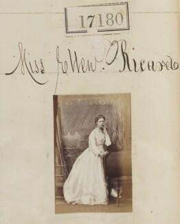 Ellen Maud (née Ricardo), Lady Bruce, by Camille Silvy - NPG Ax65053