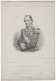 Henry Hardinge, 1st Viscount Hardinge of Lahore, by Mrs Edwin Dalton (Magdalena Ross), published by  Thomas McLean, after  Sir William Charles Ross - NPG D35409