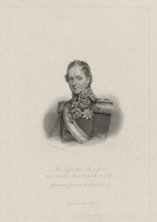 Henry Hardinge, 1st Viscount Hardinge of Lahore, by G. Cook, published by  Richard Bentley, after  Sir William Charles Ross - NPG D35410
