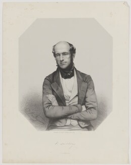Edward Doubleday, by Thomas Herbert Maguire, printed by  M & N Hanhart, published by  George Ransome - NPG D35368