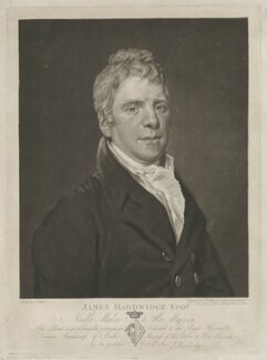 James Hardwidge, by William Ward, after  George Keith Ralph - NPG D35422