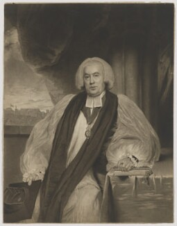 John Douglas, by William Ward, published by  Messrs Wards & Co, after  Sir William Beechey - NPG D35371