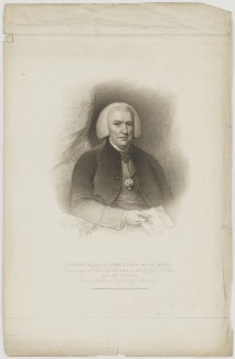 John Douglas, by Gaetano Stefano Bartolozzi, published by  T. Cadell & W. Davies, after  William Evans, after  Robert Muller - NPG D35373