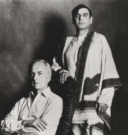 James Ivory; Ismail Merchant, by Lord Snowdon - NPG P819