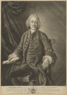 John Dove, by James Watson, published by  Carington Bowles, published by  Edward Dilly, published by  Charles Dilly, after  S. Elmer - NPG D35376