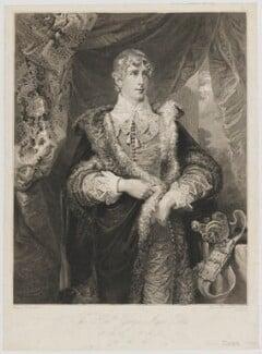 George Agar-Ellis, 1st Baron Dover, by John Burnet, after  George Sanders (Saunders), 1817 - NPG D35377 - © National Portrait Gallery, London