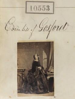 Theodosia (née Brabazon), Countess of Gosford, by Camille Silvy - NPG Ax60267