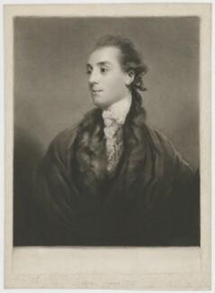 James Hare, by Samuel William Reynolds, after  Sir Joshua Reynolds - NPG D35430