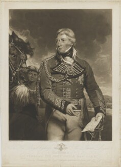 Sir John Doyle, Bt, by William Say, published by  John Peter Thompson, after  James Ramsay - NPG D35382