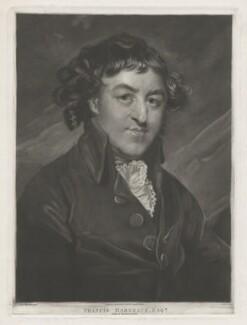 Francis Hargrave, by John Jones, published by  C. Dyer, after  Sir Joshua Reynolds - NPG D35439