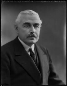 Gideon Murray, 2nd Viscount Elibank, by Bassano Ltd - NPG x154486