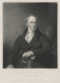 John Hargreaves, by Samuel William Reynolds, published by  Agnew & Zanetti, after  James Lonsdale - NPG D35441