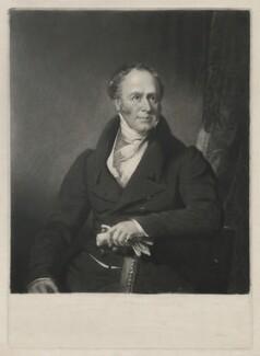 John Hargreaves, by Samuel William Reynolds, after  James Lonsdale - NPG D35442