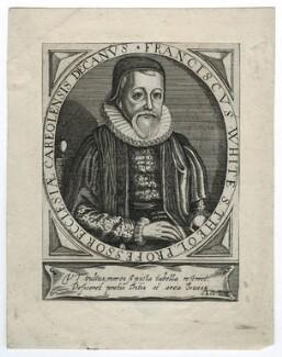 Francis White, after Thomas Cockson (Coxon) - NPG D35508