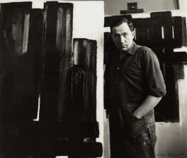 Pierre Soulages, by Ida Kar, 1954 - NPG  - © National Portrait Gallery, London