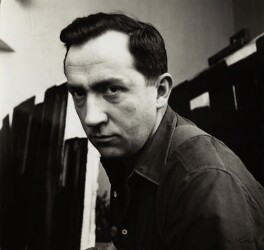 Pierre Soulages, by Ida Kar - NPG x132776