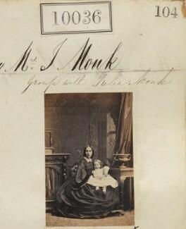 Julia Monk (née Ralli); Julia Monk, by Camille Silvy - NPG Ax59750