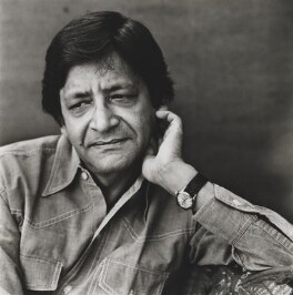 V.S. Naipaul, by Lord Snowdon, 16 July 1979 - NPG P832 - © Armstrong Jones