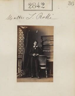 Sir Lucas Eustratio Ralli, 1st Bt, by Camille Silvy - NPG Ax52231